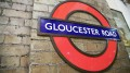 Gloucester Road sillouete roundel